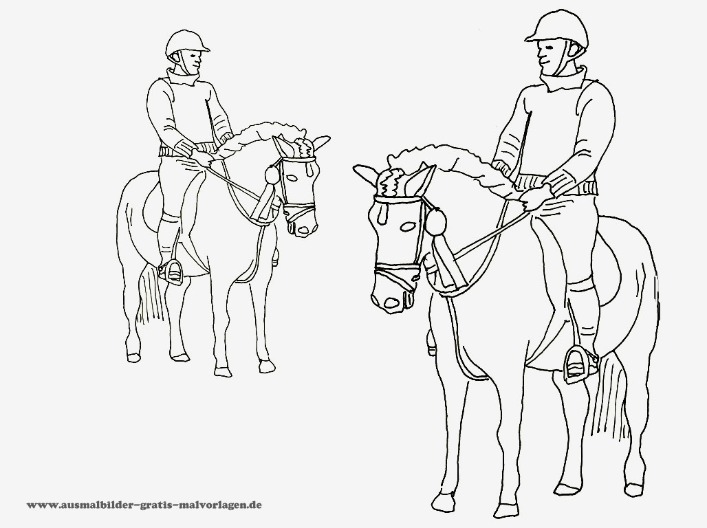 beste ausmalbilder pferde  pferde ausmalbilder horseland