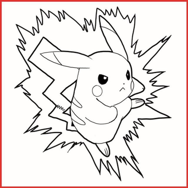 pokemon pichu ausmalbilder  pikachu ausmalbilder von