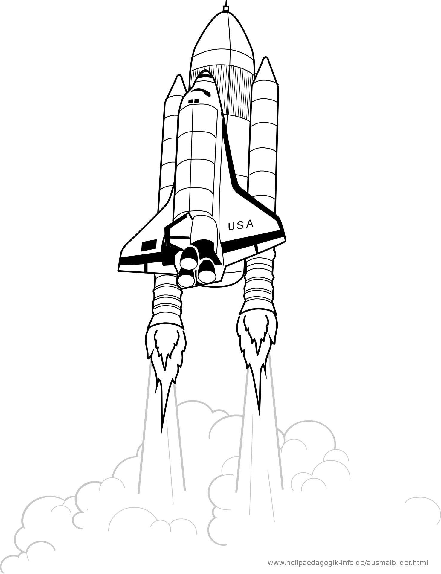 20 besten ideen ausmalbilder rakete - beste wohnkultur