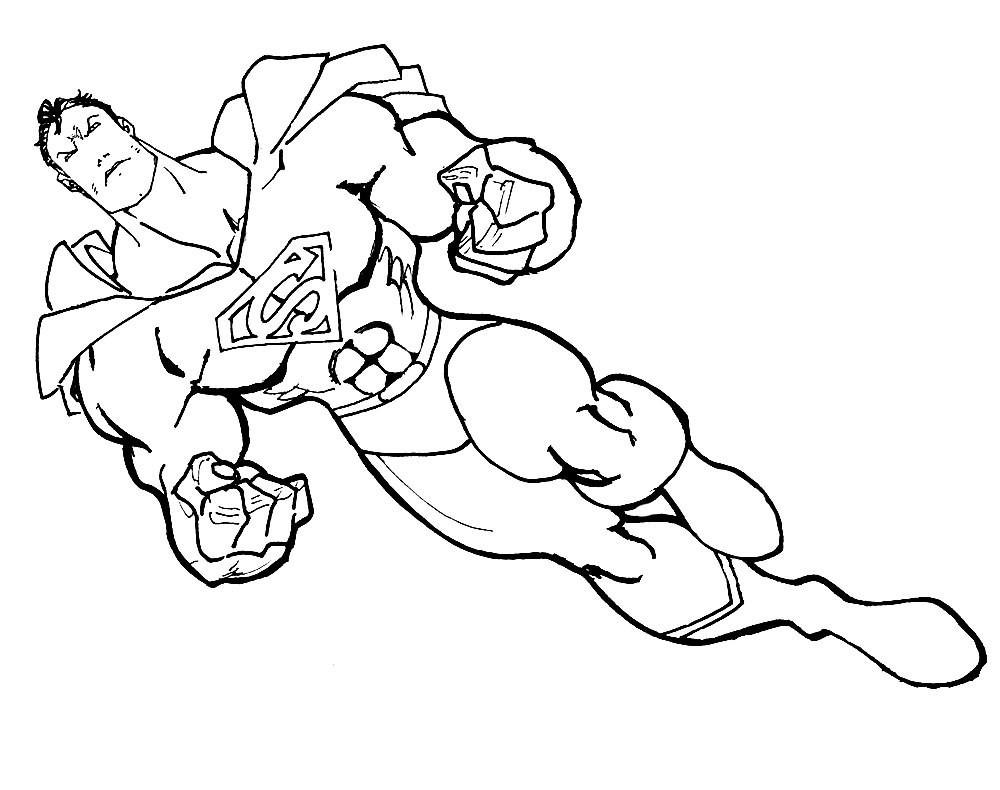 Ausmalbilder Superhelden  Schöne Malvorlagen Ausmalbilder Superhelden ausdrucken 1