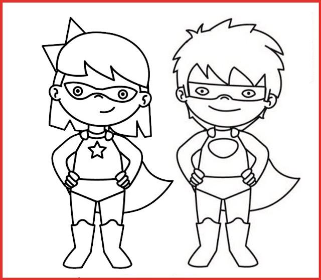 ausmalbilder zum ausdrucken superhelden - kostenlos zum