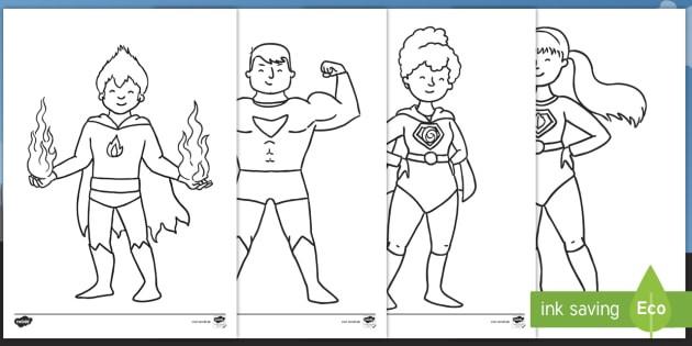 Ausmalbilder Superhelden  Superhelden Ausmalbilder Superhelden Superheld