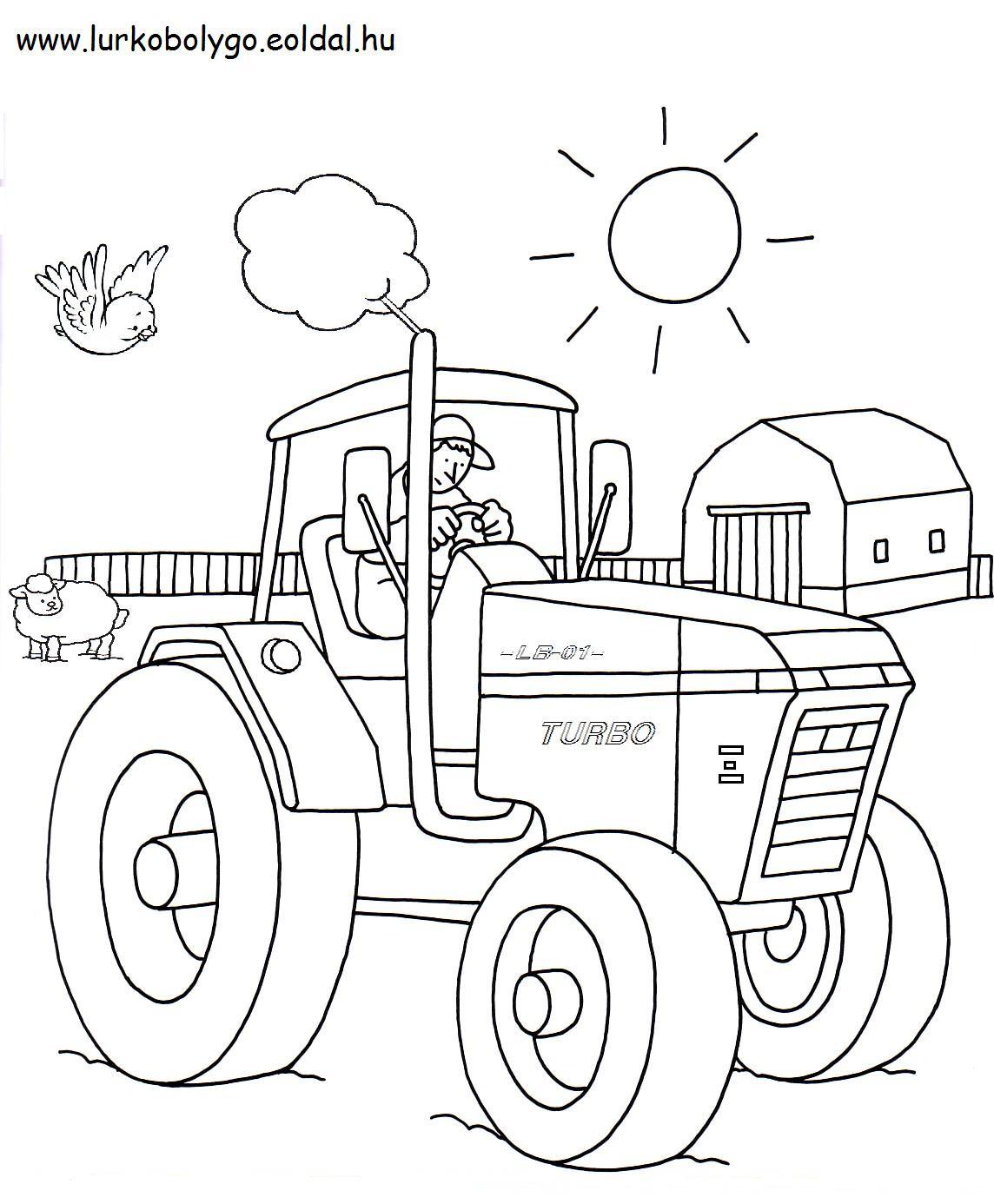Die 20 Besten Ideen Für Ausmalbilder Traktor Mit Anhänger Beste