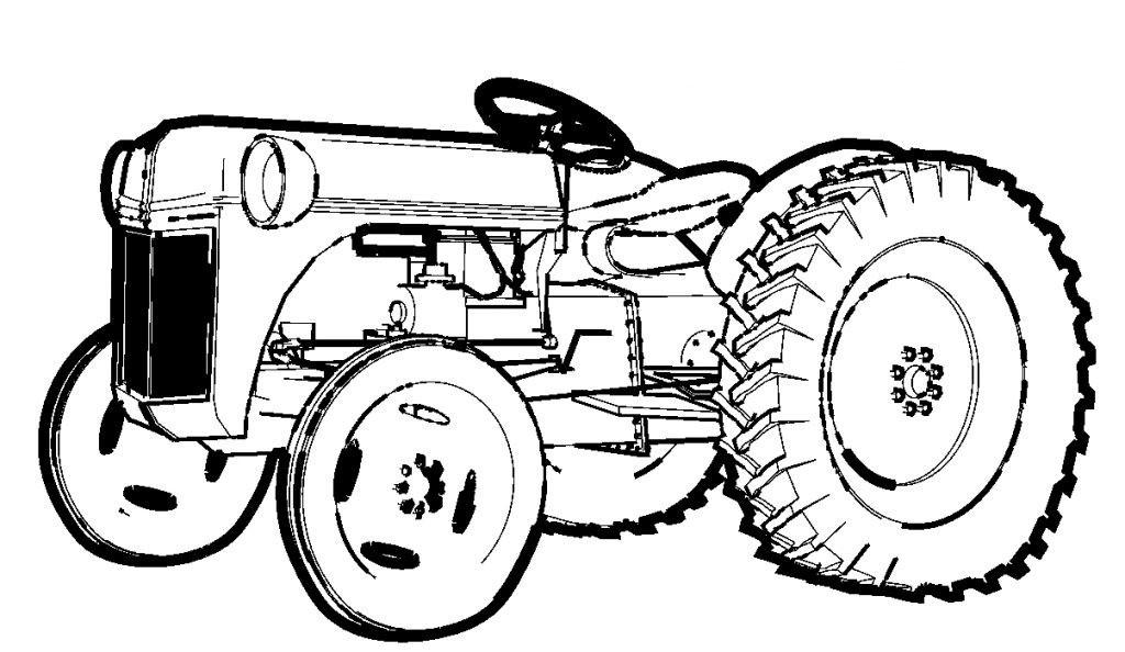 ausmalbilder traktor case  kostenlos zum ausdrucken