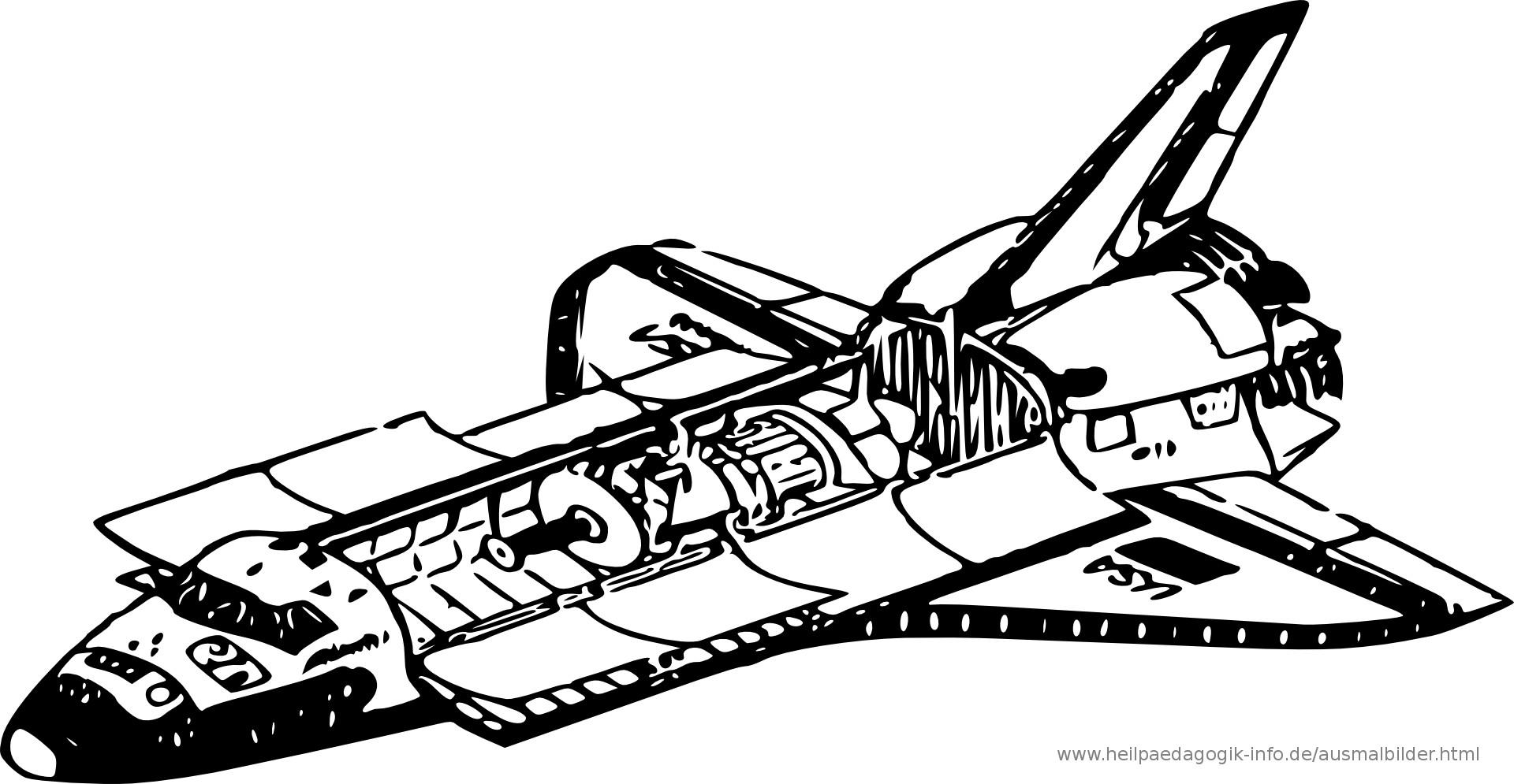 Ausmalbilder Weltraum  Ausmalbilder Raketen und Weltall