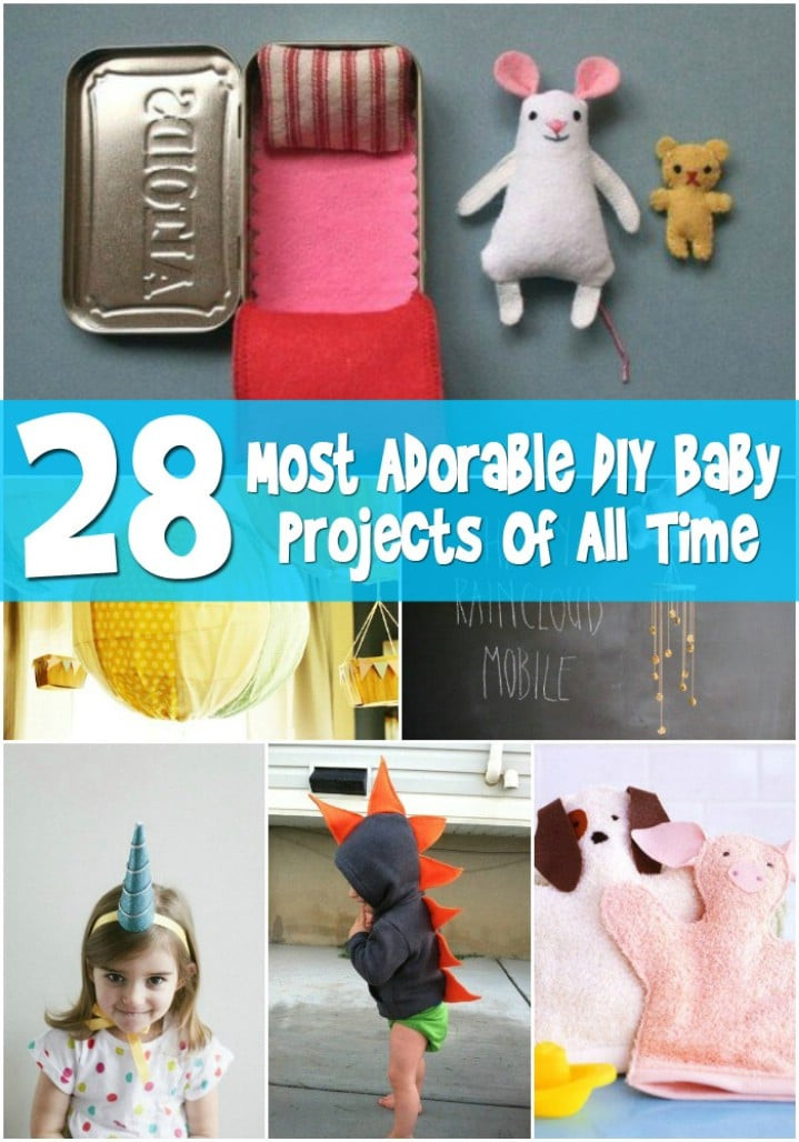 Baby Diy  Top 28 Most Adorable DIY Baby Projects All Time DIY