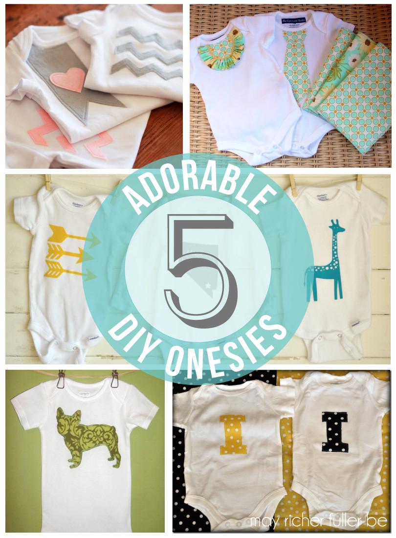 Baby Diy  DIY esies Baby Gifts