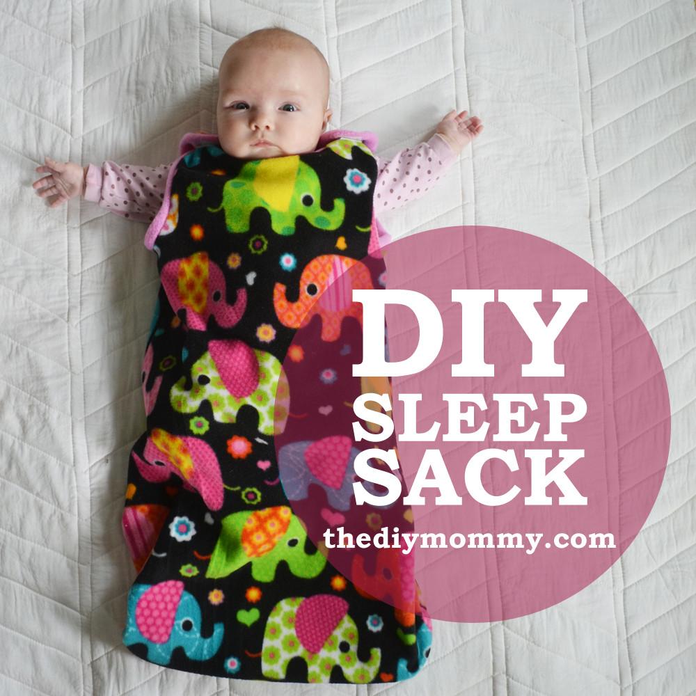 Baby Diy  Sew an Easy Baby Sleep Sack