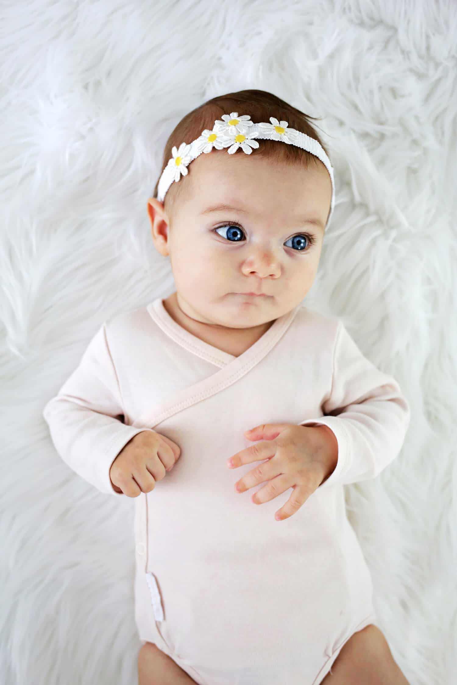 Baby Diy  Baby Headband DIY 3 Ways and No Sew A Beautiful Mess