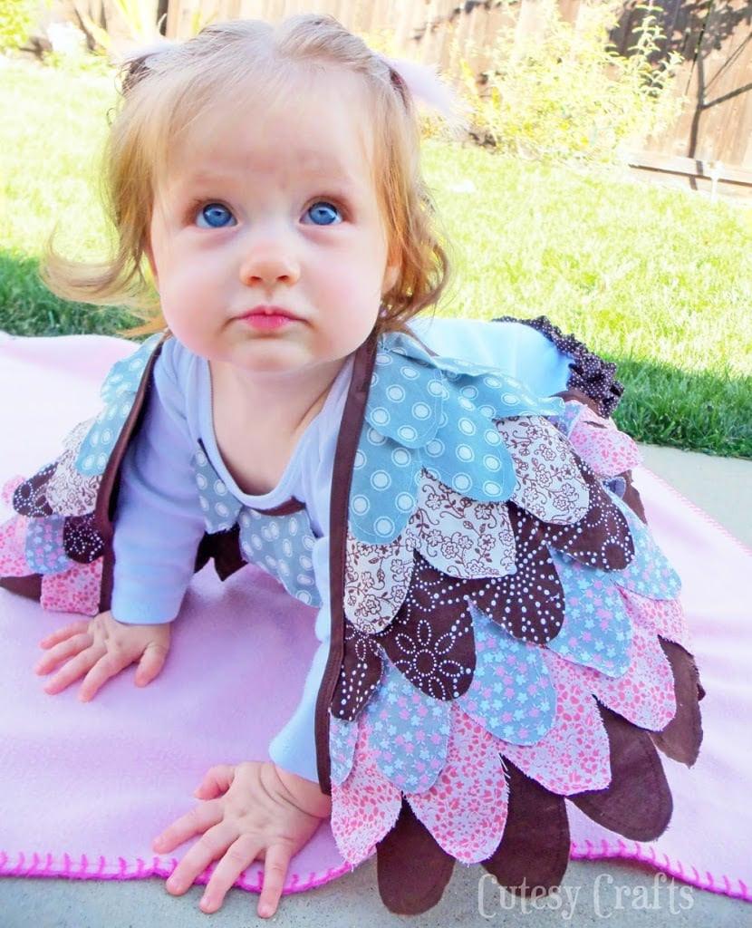 Baby Diy  DIY Baby Owl Costume Tutorial Cutesy Crafts