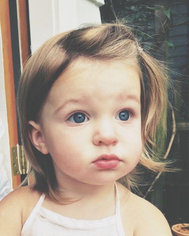 Baby Frisuren Mädchen  Baby Frisuren Frisuren Pinterest