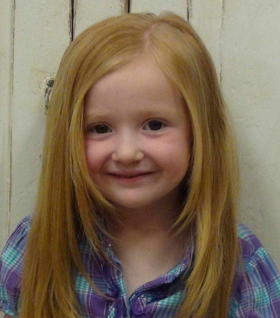 Baby Frisuren Mädchen  Lange Frisuren Für Kleine Mädchen Mit Langen Niedliche