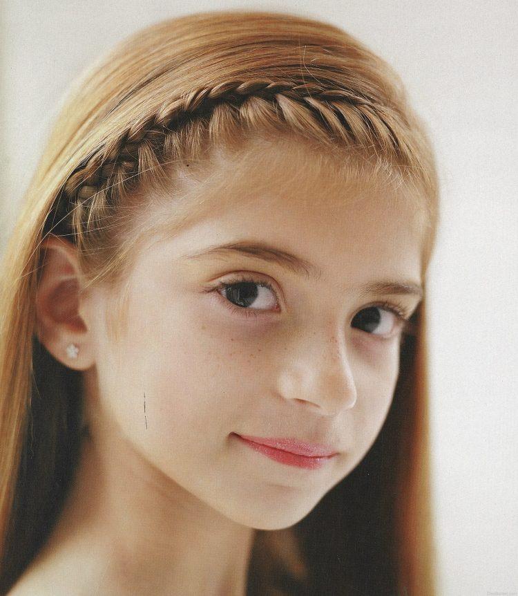 Baby Frisuren Mädchen  55 Kreative Mädchen Frisuren Hair Styling der kleine Dame