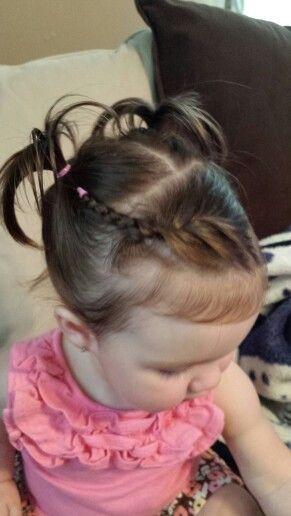Baby Frisuren Mädchen  Peinados escolares Hairstyles For Little Girls