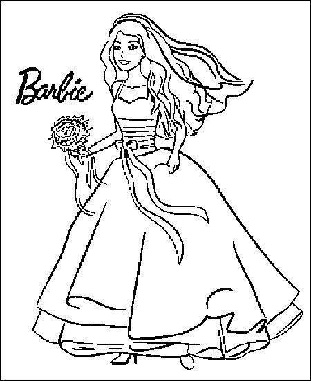 Barbie Ausmalbilder  Ausmalbilder Barbie 13