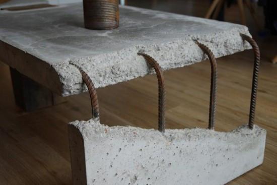 Beton Tisch Diy  Tisch aus Beton letzten Trends