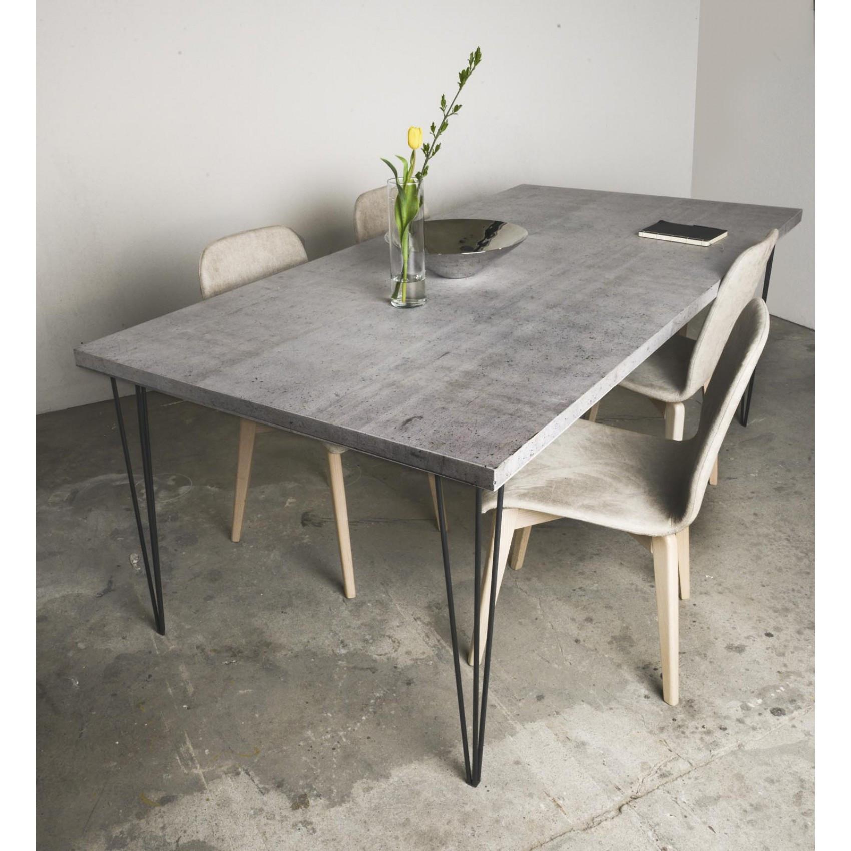 Beton Tisch Diy  Beton Tisch