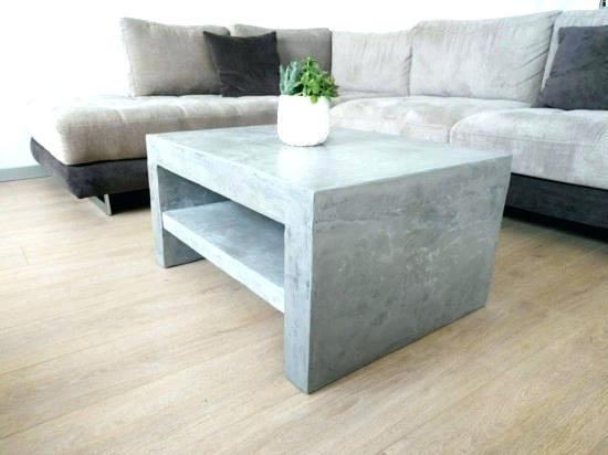 Beton Tisch Diy  Dein Exklusiver Tisch Im Landhaus Stil New Swedish Design