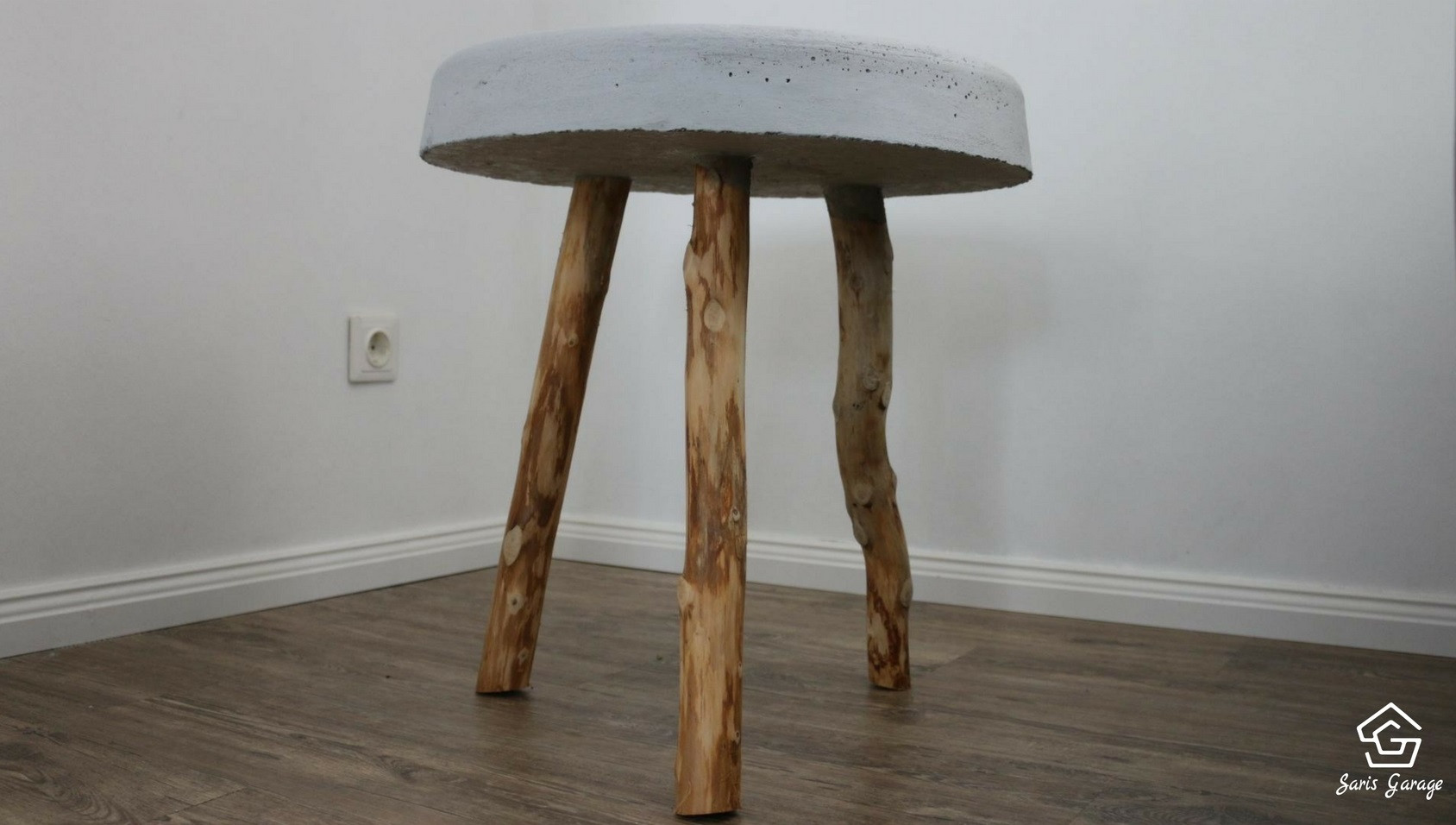 Beton Tisch Diy  【 】 Betontisch selber bauen DIY Anleitung Tisch aus Beton