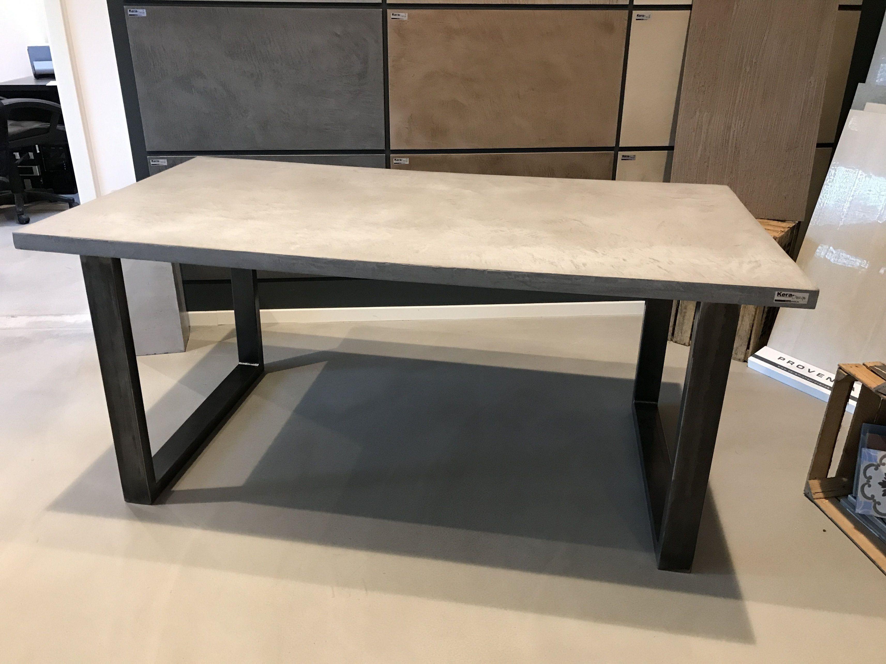Beton Tisch Diy  Beton Tisch Selber Machen