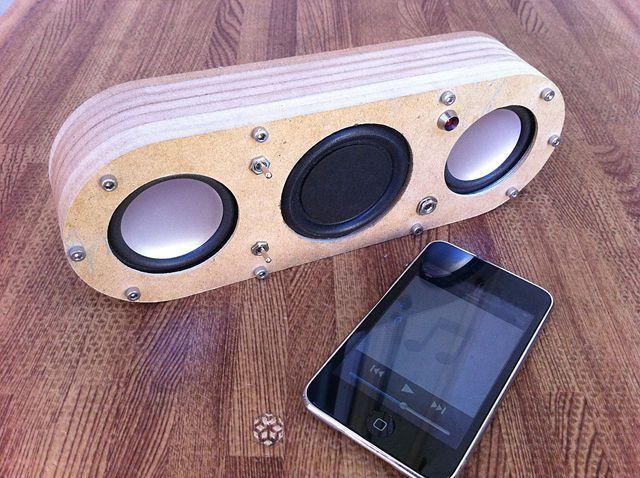 Bluetooth Lautsprecher Diy  DIY Supercharged Bluetooth Speaker v2 0
