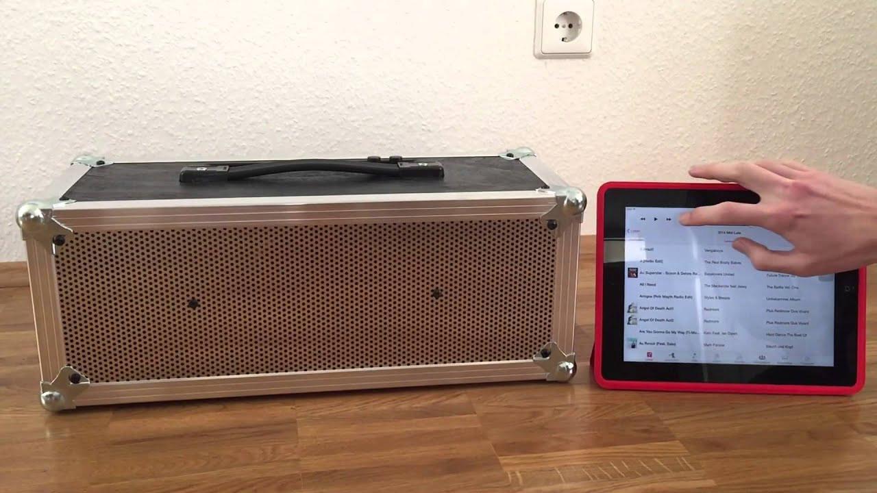 Bluetooth Lautsprecher Diy  Review DIY Bluetooth Lautsprecher Boombox