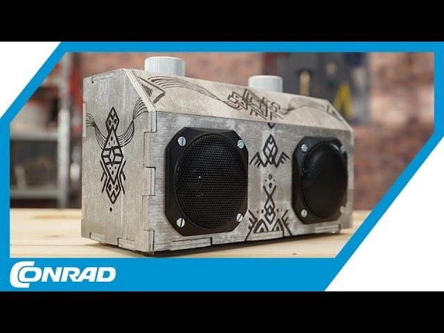 Bluetooth Lautsprecher Diy  DIY Bluetooth Lautsprecher bauen Tekkie Hacks Conrad