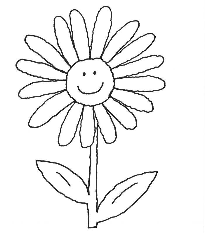 Blume Ausmalbilder  Kostenlose Ausmalbilder und Malvorlagen Blumen zum