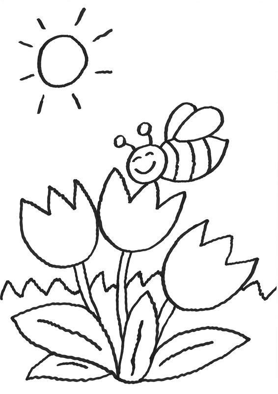 Blume Ausmalbilder  Ausmalbilder Blumen Malvorlagen 201 Malvorlage Blumen