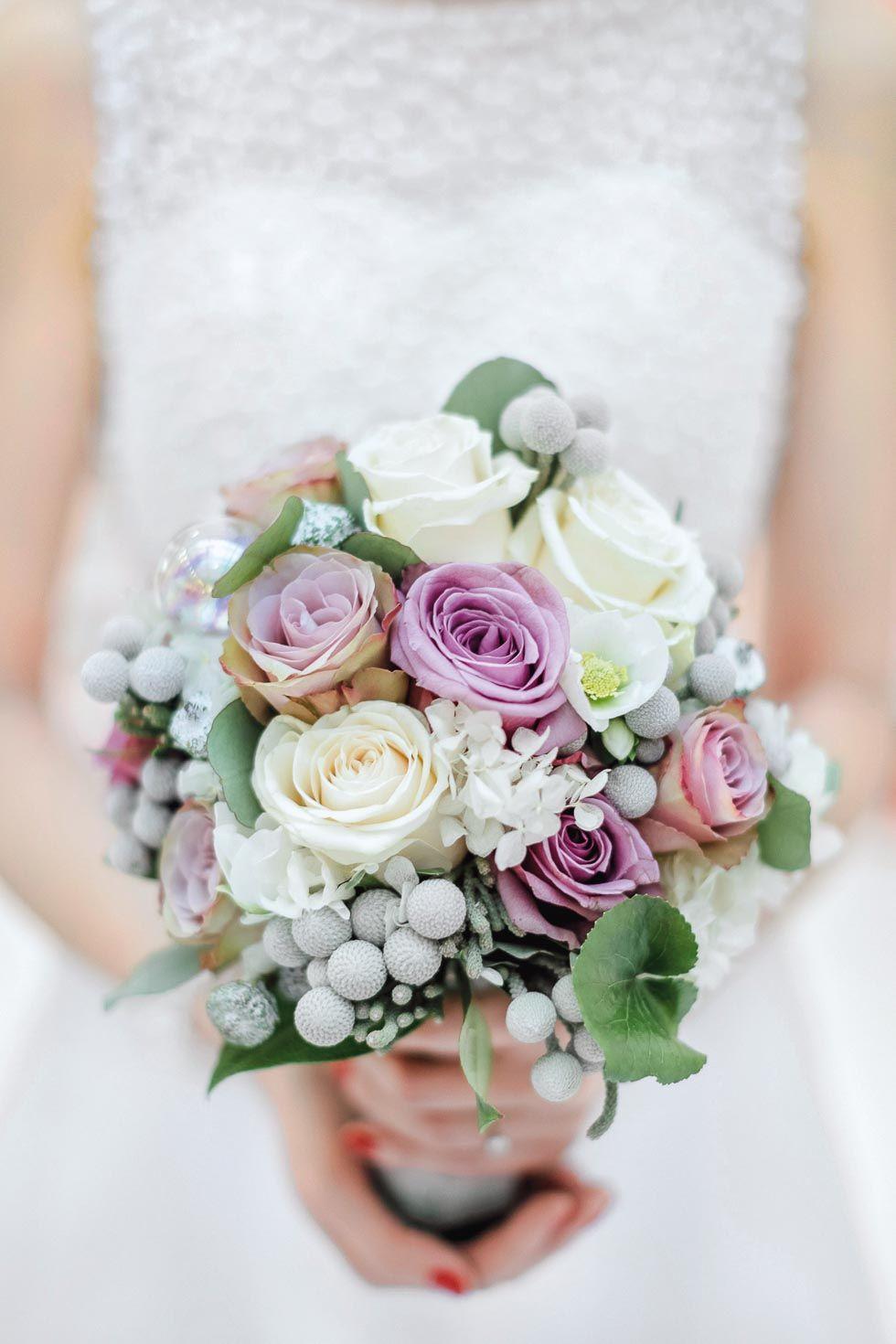 Brautstrauß 2019  Brautstrauß Rosa und Weiß in 2019 Blumen
