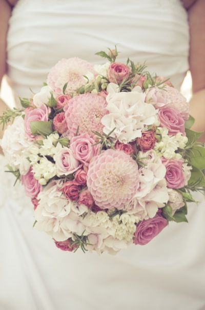 Brautstrauß 2019  rosa pastell brautstrauß