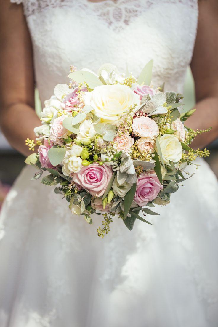 Brautstrauß 2019  romantischer vintage Brautstrauß