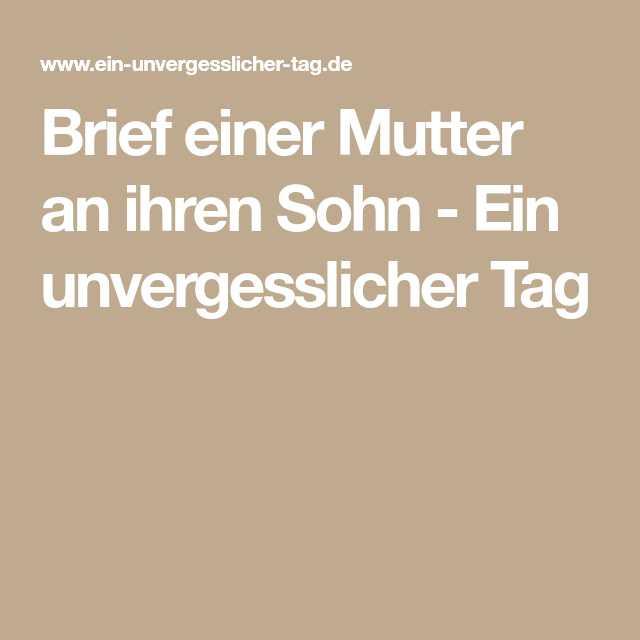 Brief An Meinen Sohn Zur Hochzeit  Zigarren Für Hochzeit Einzigartig 2017 09 08t13 33 20