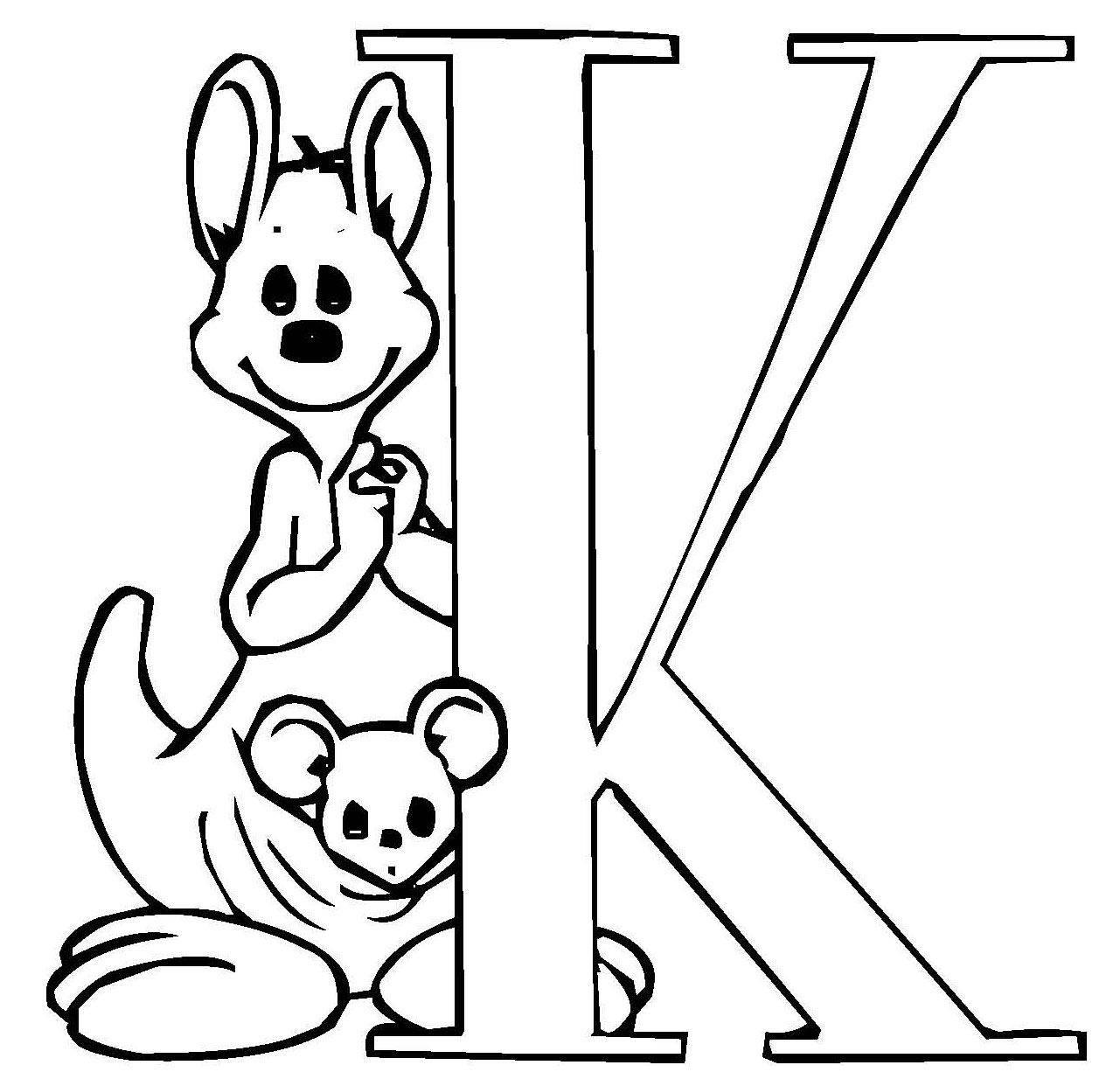 Buchstaben Malvorlagen  Kostenlose Malvorlage Buchstaben lernen Niedliche Schrift