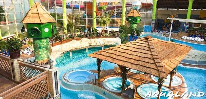 California Schwimmbad Leverkusen  Aqualand Köln 2 Tageskarten für zusammen 27 90 € statt 51