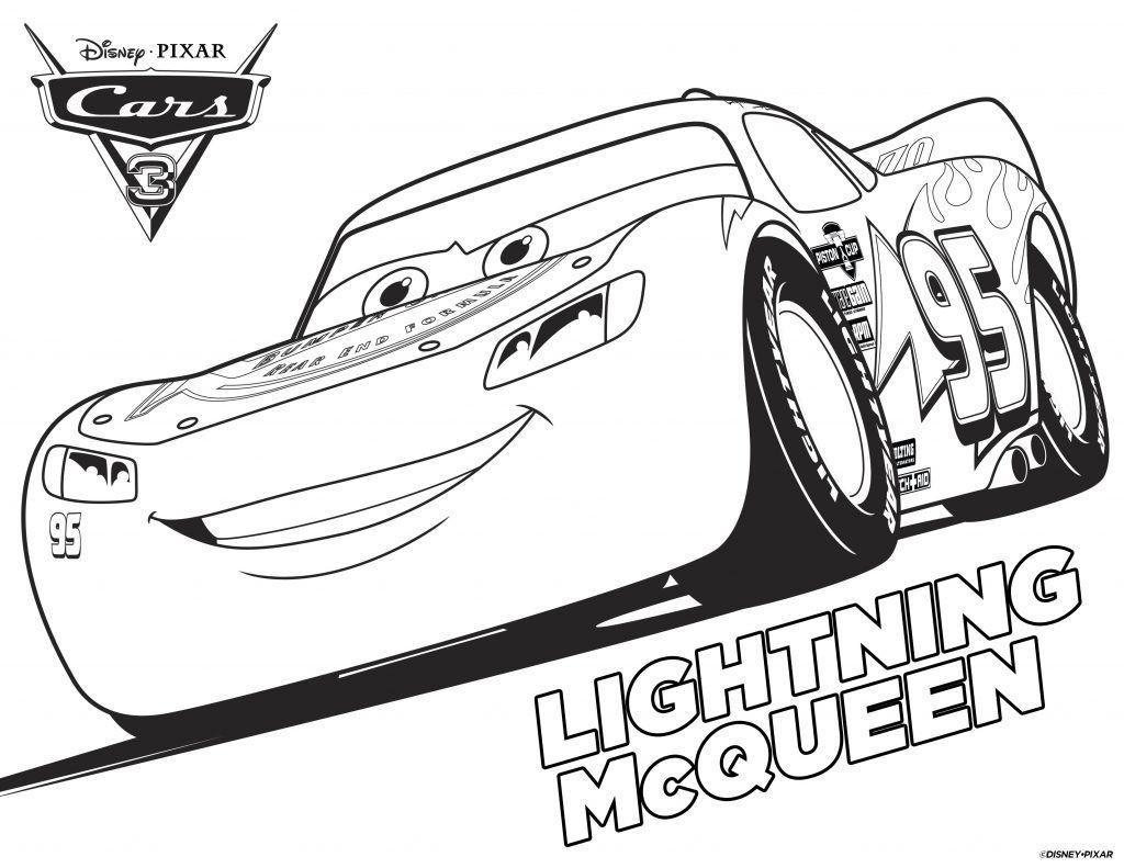die besten ideen für cars ausmalbilder lightning mcqueen