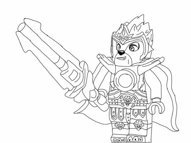 Chima Ausmalbilder  Ausmalbilder Lego Chima zum Ausdrucken