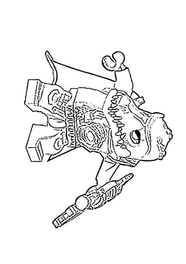 Chima Ausmalbilder  Ausmalbilder Lego Chima 13
