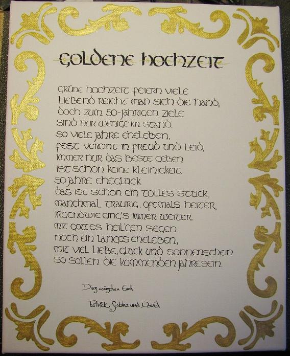 Christliche Gedichte Zur Hochzeit  gedicht für goldene hochzeit