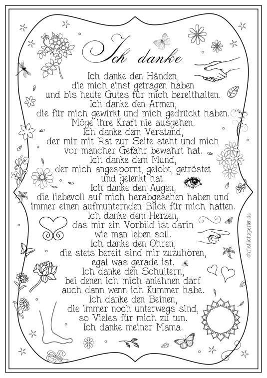 Christliche Gedichte Zur Hochzeit  Danke
