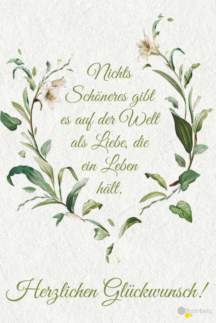 Christliche Gedichte Zur Hochzeit  Glückwünsche zur Hochzeit 20 Sprüche zum Downloaden