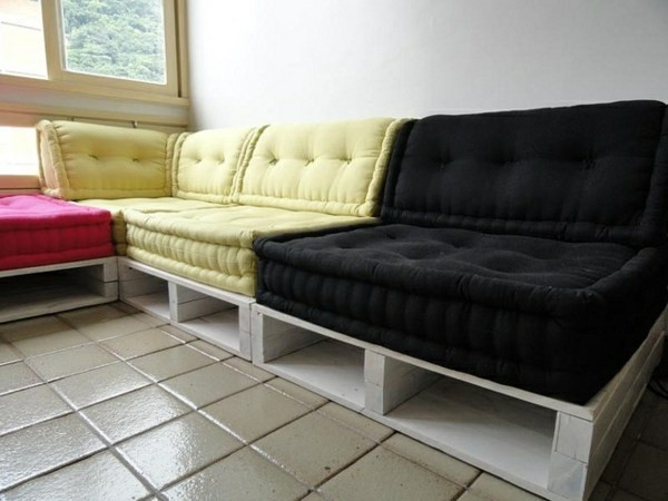 Couch Auflagen  Paletten Sofa Auflagen