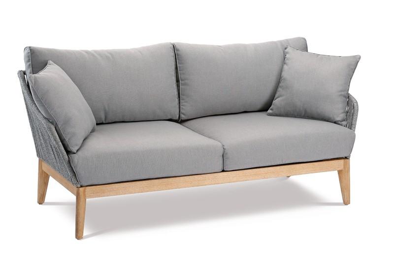 Couch Auflagen  Best Couch Gartensofa Samos 2 Sitzer inkl Auflagen und 2