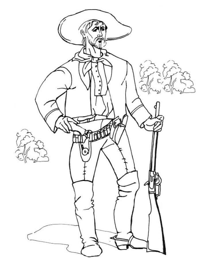 20 besten cowboy ausmalbilder  beste wohnkultur