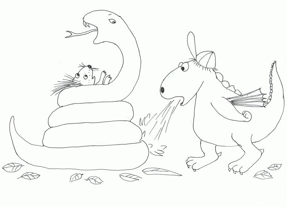 Der Kleine Drache Kokosnuss Ausmalbilder  Der kleine Drache Kokosnuss