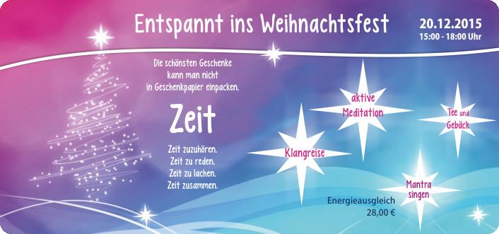 Die Schönsten Geschenke Kann Man Nicht In Geschenkpapier Einpacken  CeKa Werbung Senftenberg Besinnliches im Advent