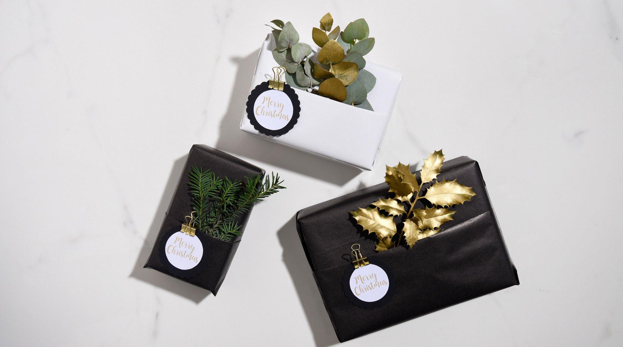Die Schönsten Geschenke Kann Man Nicht In Geschenkpapier Einpacken  Weihnachtsgeschenke verpacken Das sind schönsten Ideen