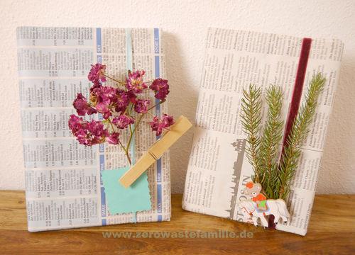 Die Schönsten Geschenke Kann Man Nicht In Geschenkpapier Einpacken  zerowastefamilie Zero Waste Ideen für Geschenkverpackungen