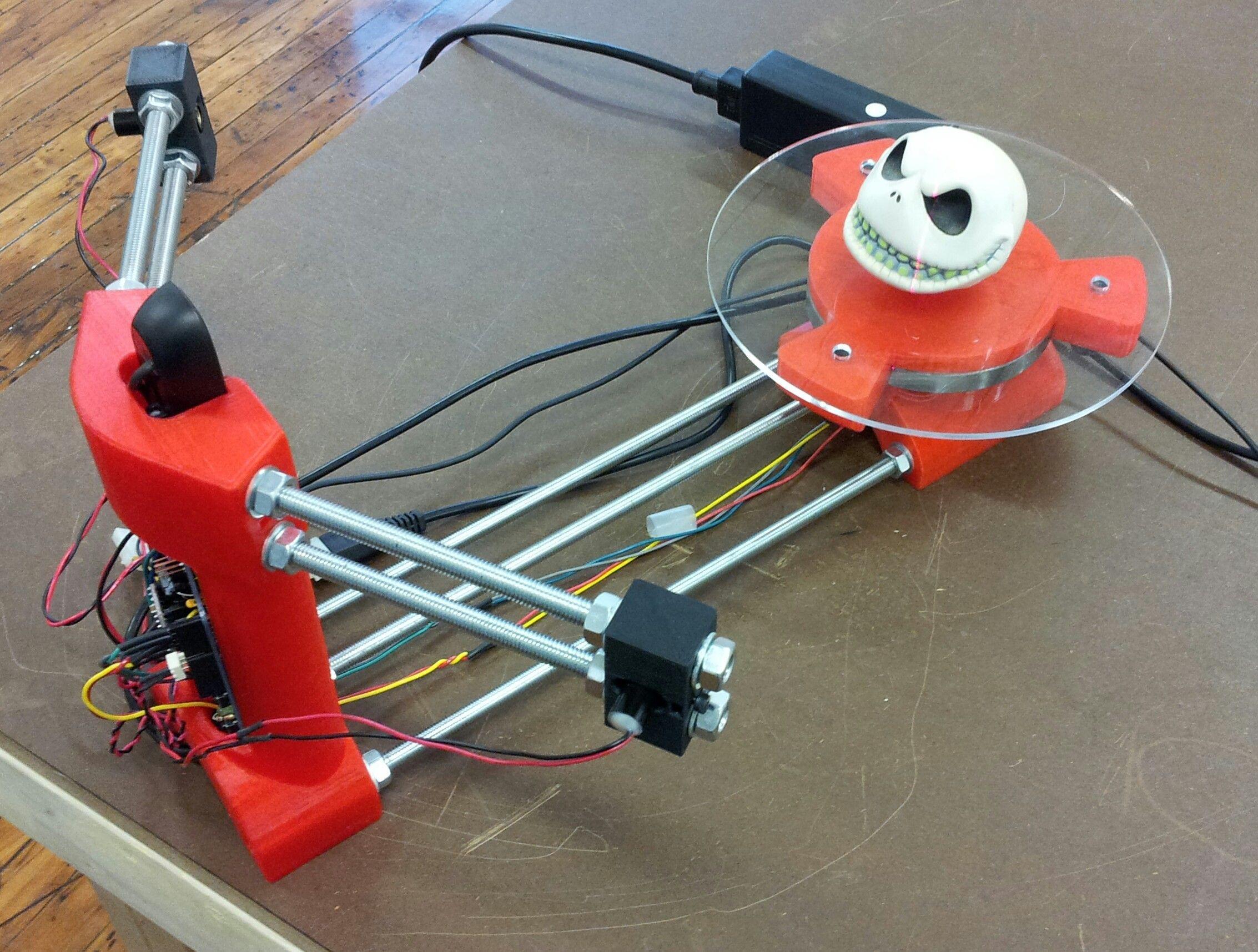 Diy 3D Scanner  DIY 3D Scanner Raspberry Pi inside