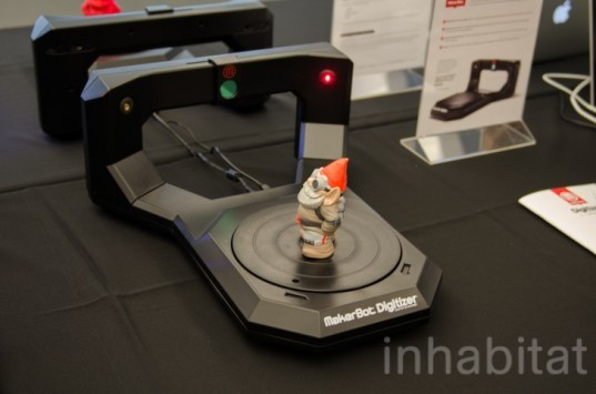 Diy 3D Scanner  MakerBot Unveils Digitizer 3D Scanner at Its Brooklyn